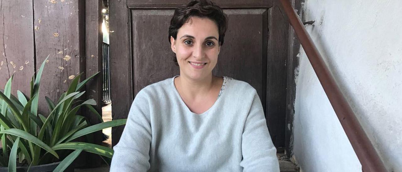 Cristina Rodríguez, Trabajadora Social del Área de Mujer del Movimiento por la Paz -MPDL-