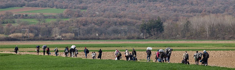 Atención a población refugiada
