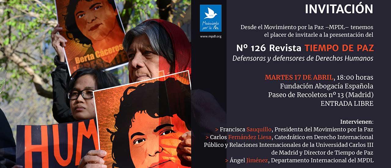 Defensoras y defensores de Derechos Humanos