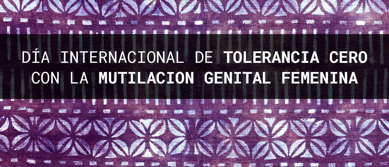 Con la mutilación genital femenina, tolerancia cero