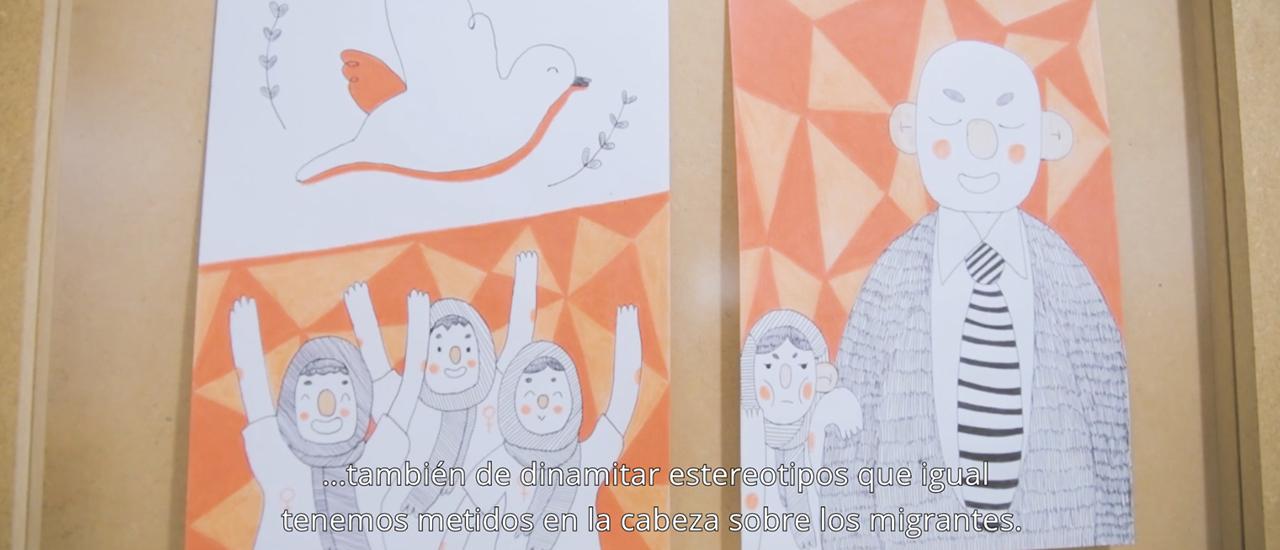 Ubinadamu: Soy porque somos, un proyecto artístico sobre migraciones y refugio