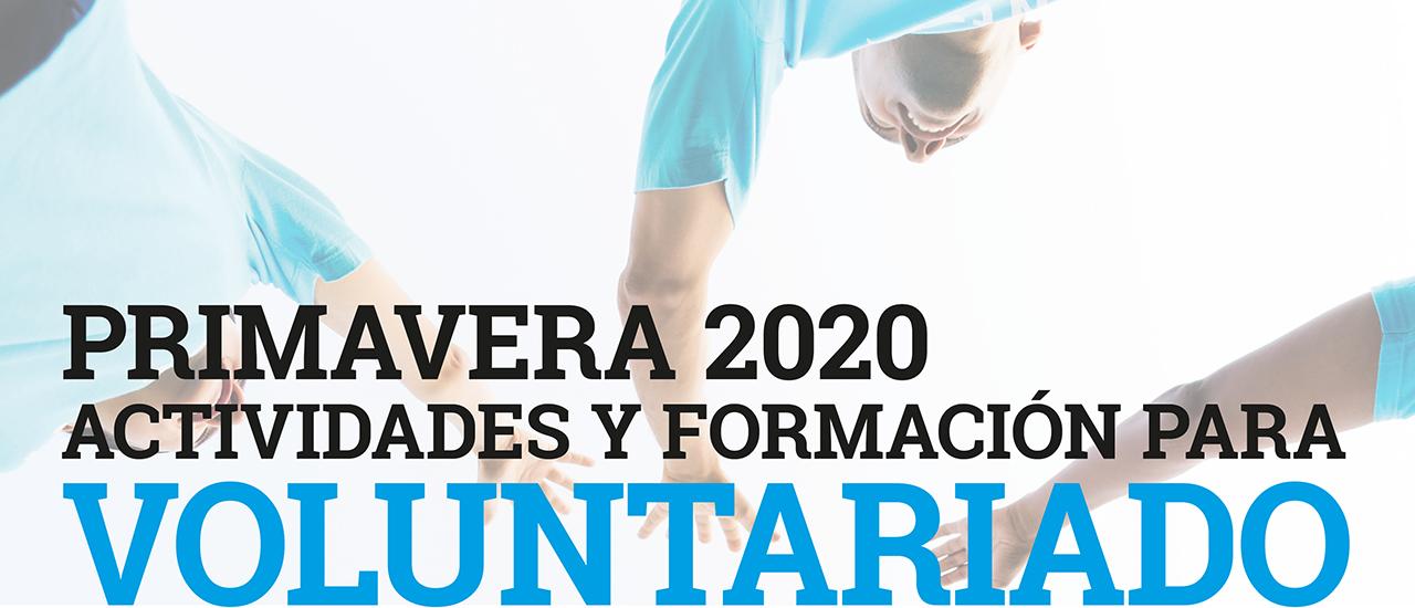 Ciclo Primavera 2020 de actividades y formación para Voluntariado del Movimiento por la Paz -MPDL- Cantabria