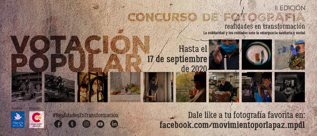Votación Popular Concurso de Fotografía 'Realidades en transformación'