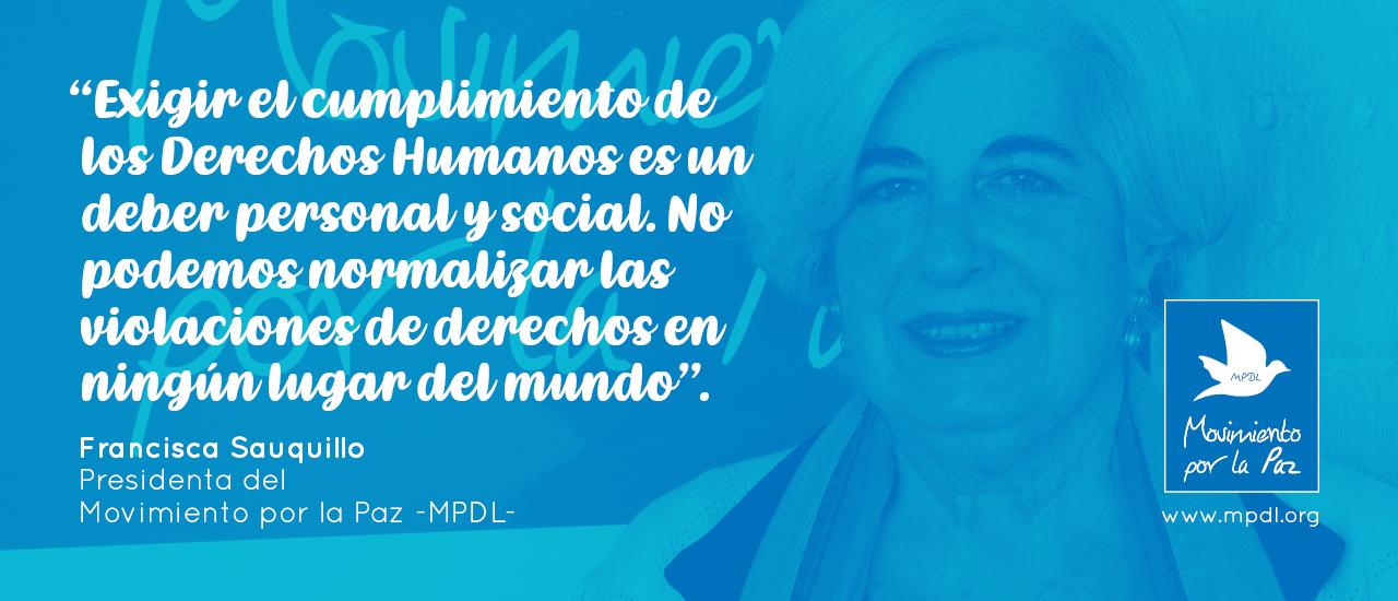 Defender los Derechos Humanos, un deber personal y social