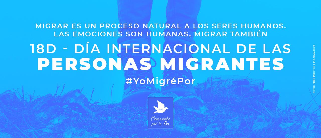 18D: Día Internacional de las Personas Migrantes