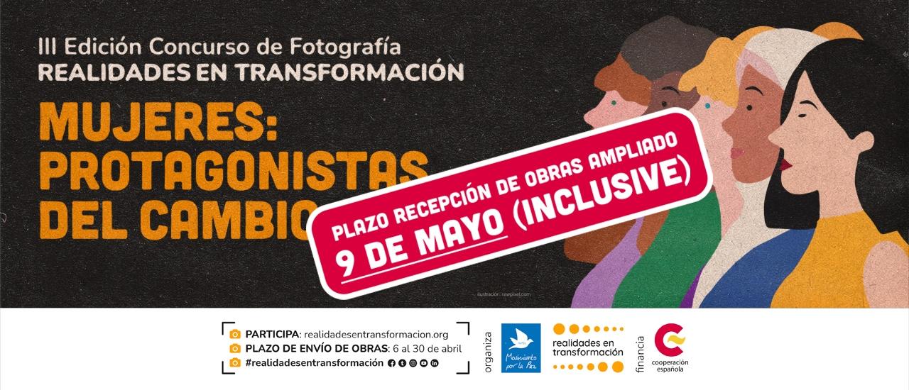 """Concurso de Fotografía """"Realidades en Transformación"""": Mujeres, protagonistas del cambio"""
