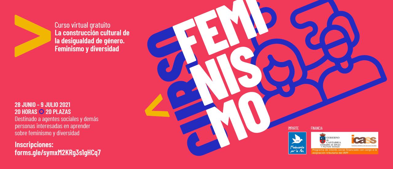 """Apúntate al curso """"La construcción cultural de la desigualdad de género. Feminismo y diversidad"""""""
