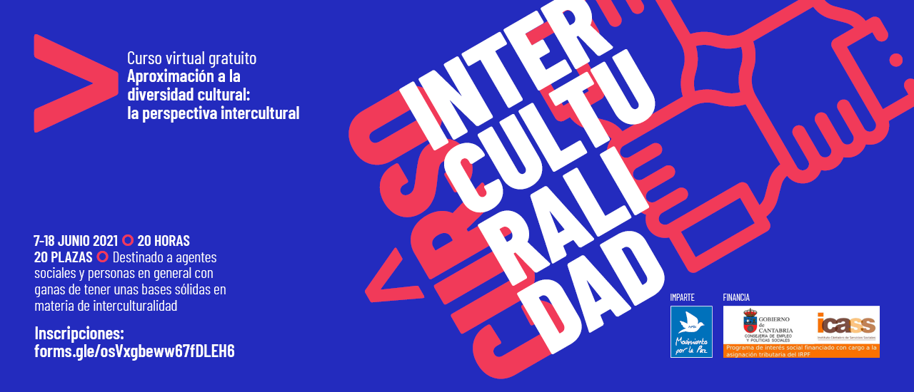 """Apúntate al curso """"Aproximación a la diversidad cultural: la perspectiva intercultural"""""""