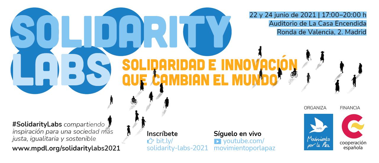 Jornadas #SolidarityLabs: Solidaridad e innovación que cambian el mundo