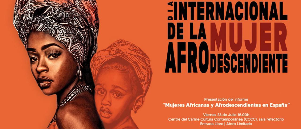 Presentación del informe 'Mujeres Africanas y Afrodescendientes en España'