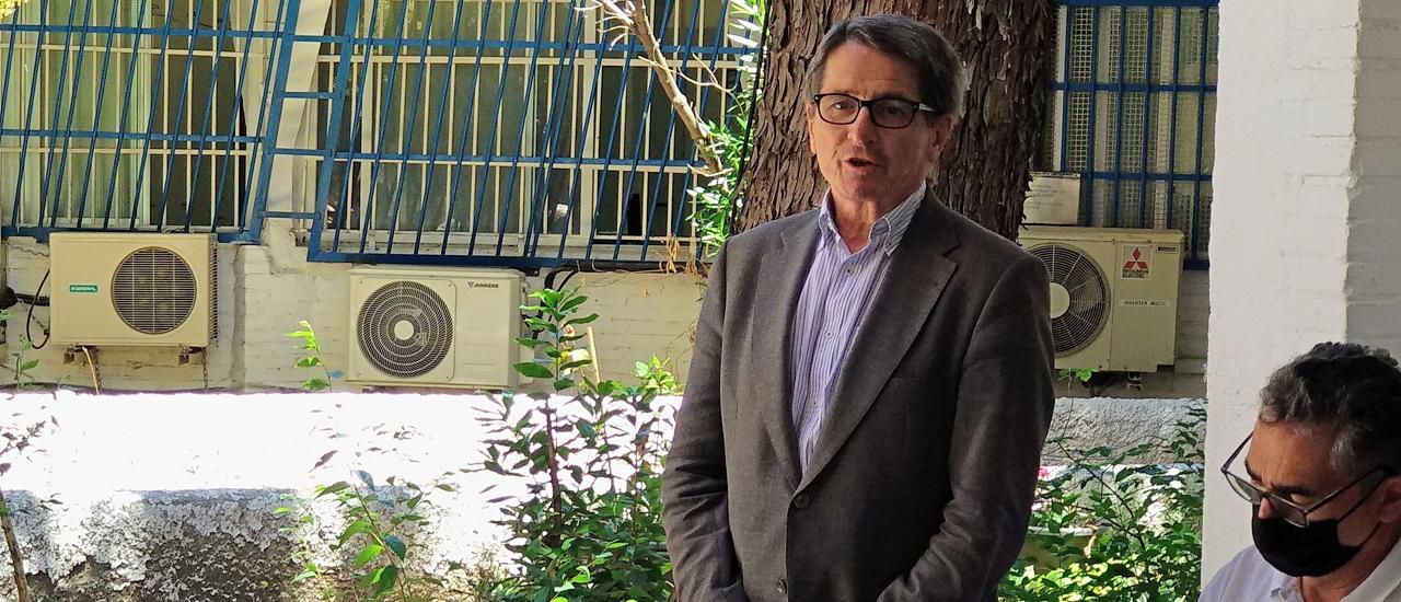 """Manuel de la Rocha Rubí: """"Mi compromiso con la organización viene de largo y ahora lo canalizaré en mi nueva condición de presidente"""""""