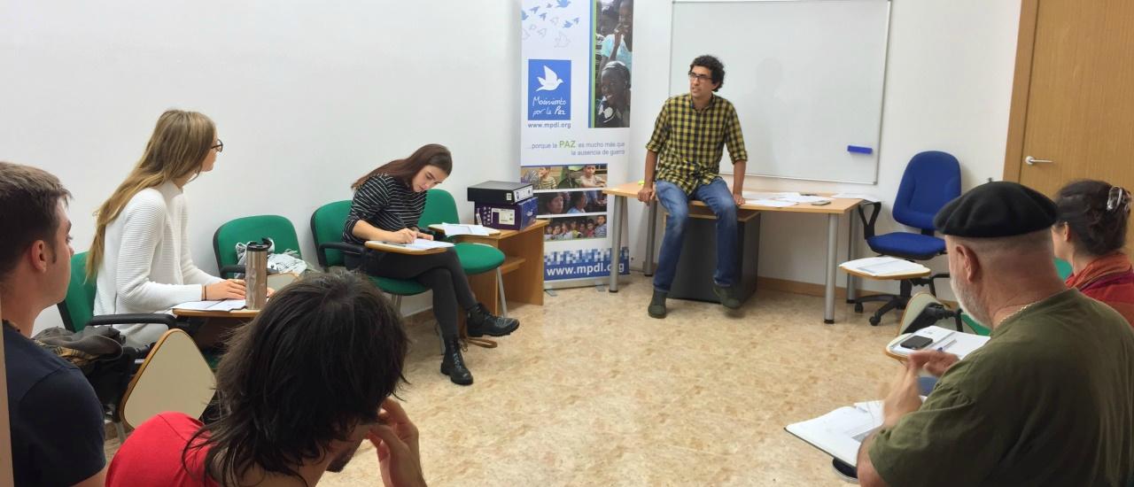 Proyecto de acción y formación de voluntariado juvenil para el proyecto de acogida a solicitantes de protección internacional