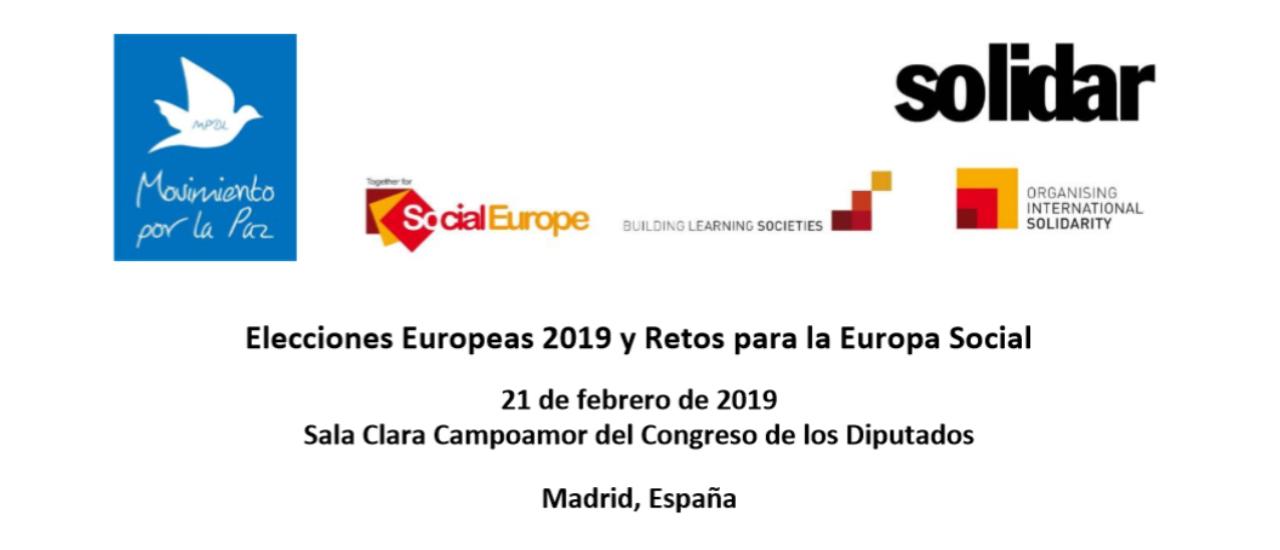 Elecciones Europeas 2019 y Retos para la Europa Social