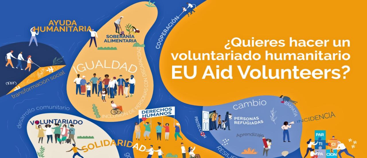 Vacantes de voluntariado humanitario EU Aid Volunteers
