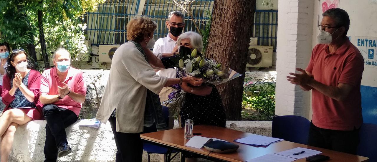 Francisca Sauquillo, nombrada Presidenta de Honor del Movimiento por la Paz