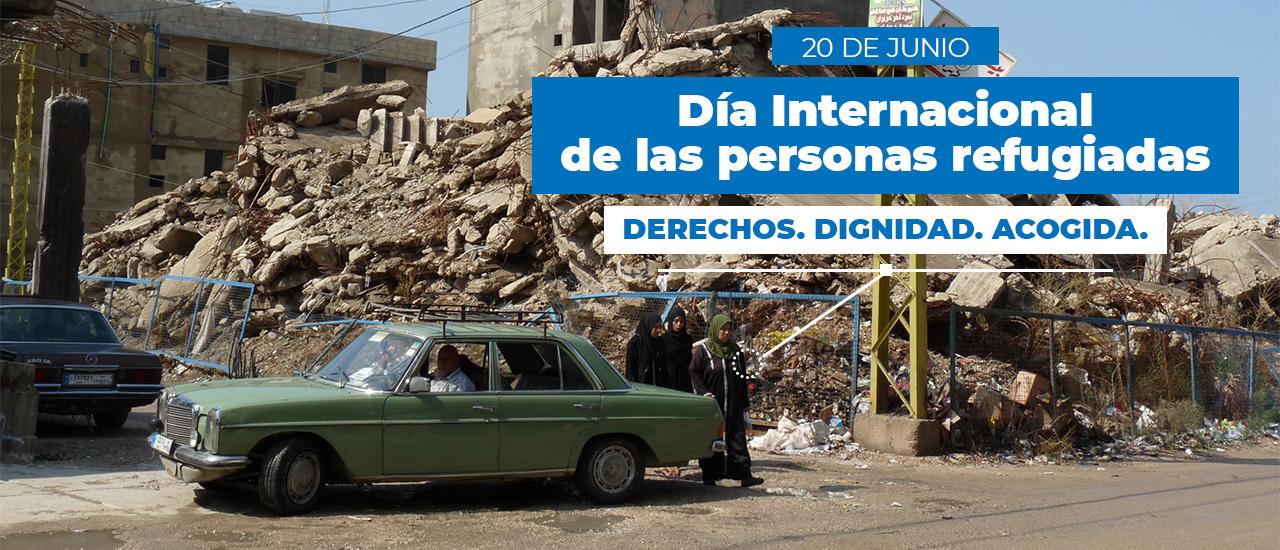 Día de las Personas Refugiadas: derechos, dignidad, acogida